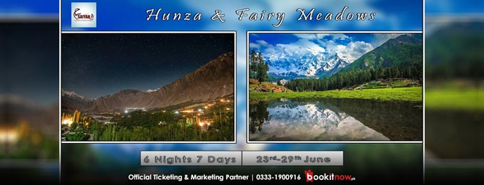 hunza & fairy meadows