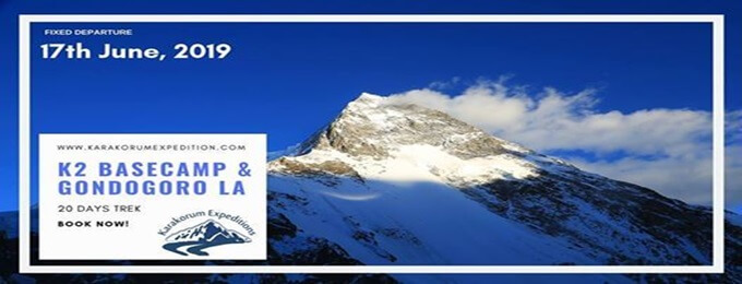 k2 basecamp and gondogoro la trek 2019