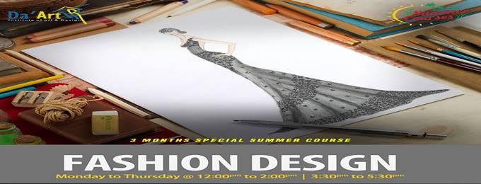 Fashion Design 3 Months Summer Short Course Lahore Bookitnow Pk