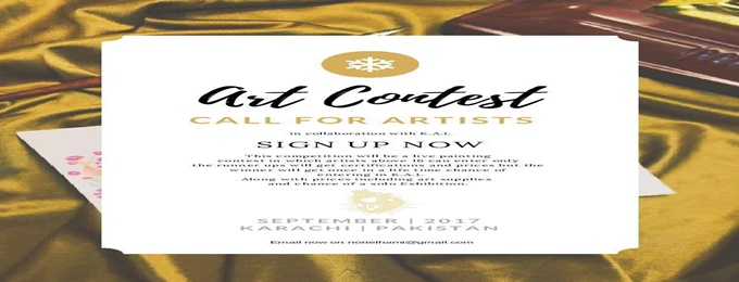 art contest _ karachi artist league