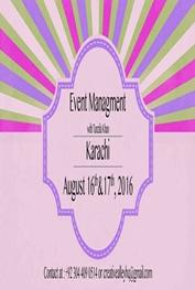 Event Management - Kick-start your skills karachi