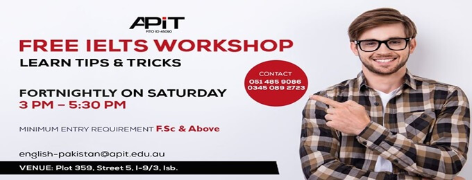 free ielts workshop