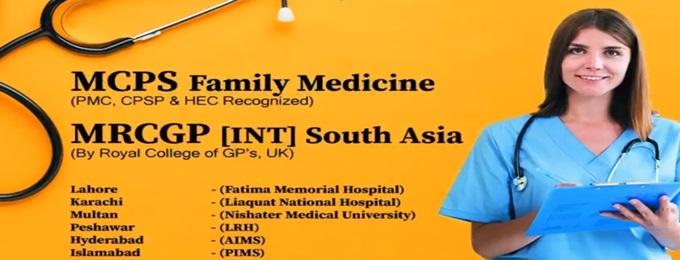 MCPS Family Medicine Course & MRCGP INT)
