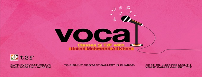 vocal classes with ustad mehmood ali khan