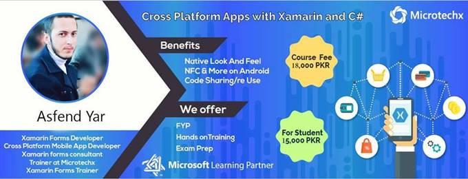 mobile app development - xamarin forms