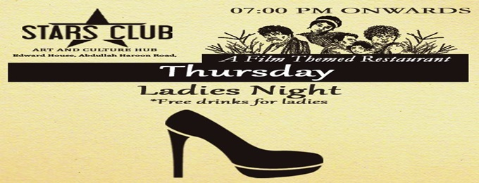 "every thursday - ""ladies night"""