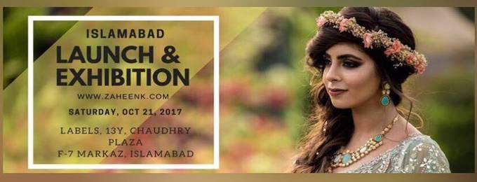 zaheen kamran islamabad launch & exhibition!