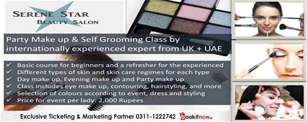 make up and self grooming training