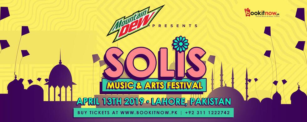 mountain dew presents solis music festival, lahore