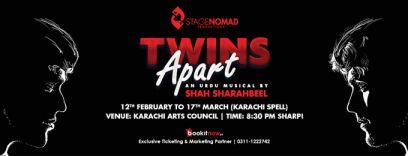 twins apart karachi