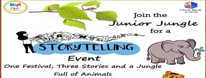 junior jungle story telling