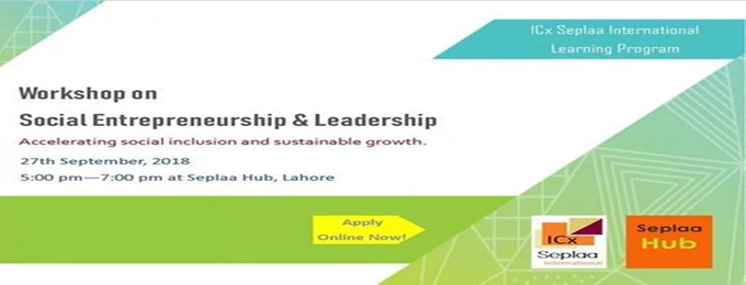 workshop on social entrepreneurship & leadership