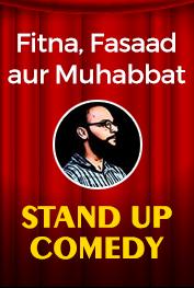 Fitna, Fasaad aur Muhabbat! Standup Comedy by Hassan Bin Shaheen Islamabad