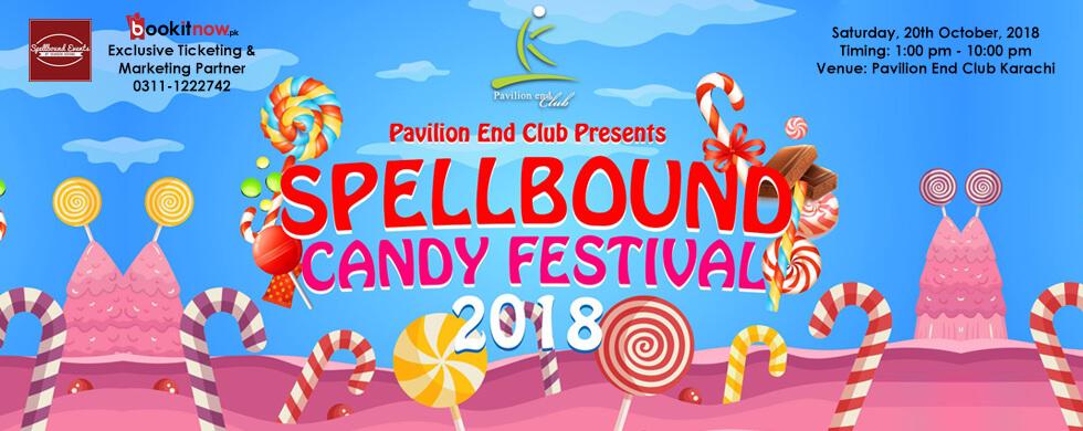 spellbound candy festival, 2018 | pavilion end club
