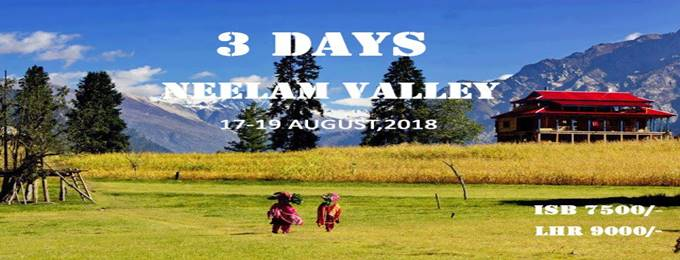 3 days neelam valley trip