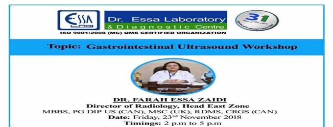 gastrointestinal ultrasound workshop