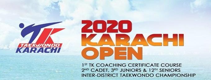 2020 karachi open taekwondo