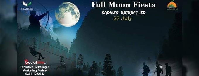 Full moon Fiesta (Trekking, Zipline, Archery & Dinner with BBQ)