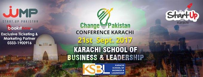 Change Pakistan Conference Karachi 2017