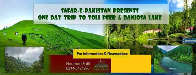 One Day Trip To Tolipeer & Banjoosa Lake | Safar E Pakistan