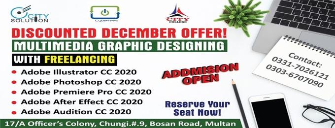multimedia graphics designing professional training