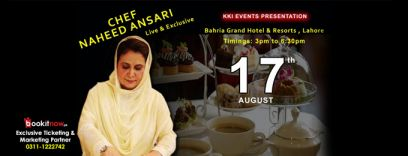 an afternoon with chef naheed ansari