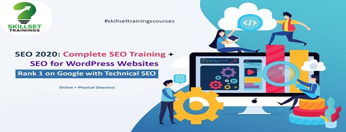 seo 2020: complete seo training + seo for wordpress websites