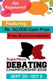 Super Nova Debating Championship ' 16 Islamabad