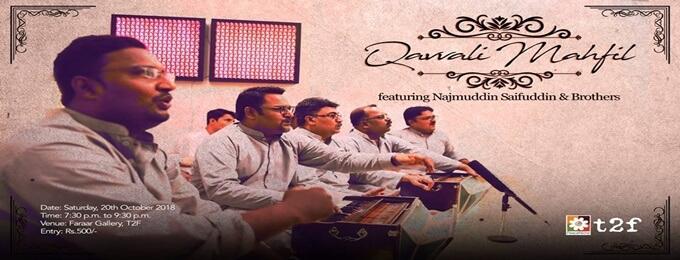 qavvaali mahfil featuring najmuddin saifuddin & brothers