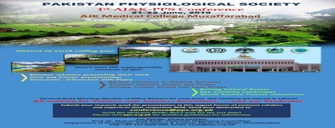 pakistan physiological society conference