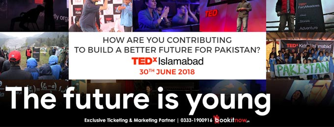 tedx islamabad 2018: the future is young!