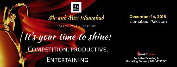 mr. miss islamabad