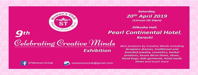 9th st women's club celebrating creative minds exhibition