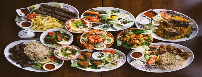 lebanese cuisine night dinner buffet