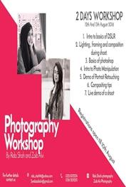Photography Workshop by Rida Shah and Zaib Alvi  Islamabad