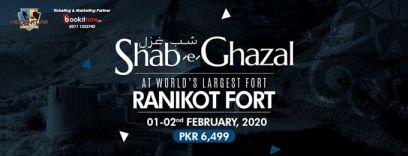 shab-e-ghazal at ranikot fort