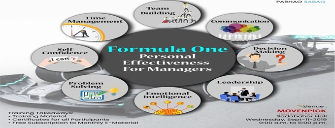 formula one personal effectiveness for managers