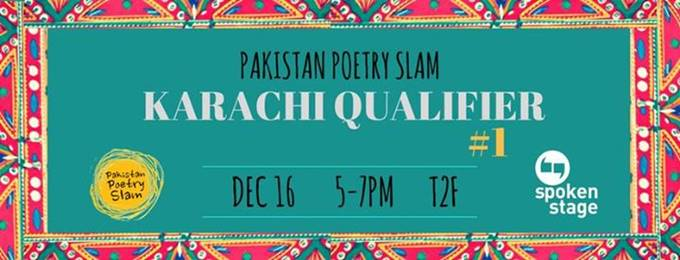 Karachi Poetry Slam Qualifier #1