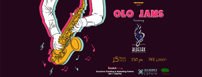 OLO JAMS with BlueSax