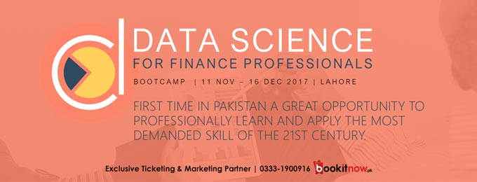 DATA SCIENCE FOR FINANCE PROFESSIONALS - LAHORE