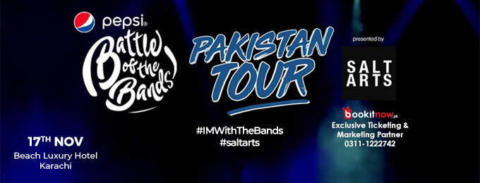 Pepsi Battle of the Bands Pakistan Tour - Karachi