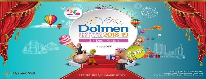 dolmen shopping festival 2018-2019