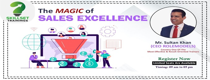 "one day training workshop on ""the magic of sales excellence"""