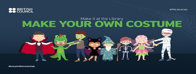 make it at the library: make your own costume