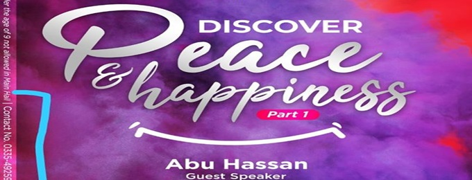 discovering peace and happiness