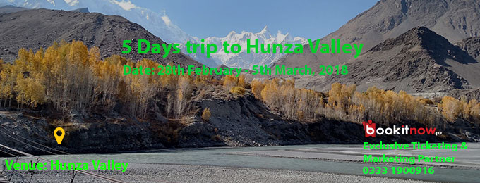 5 Days Trip to Hunza Valley
