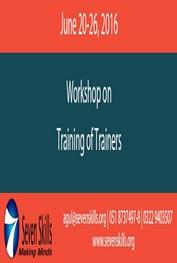 Training of Trainers  Murree