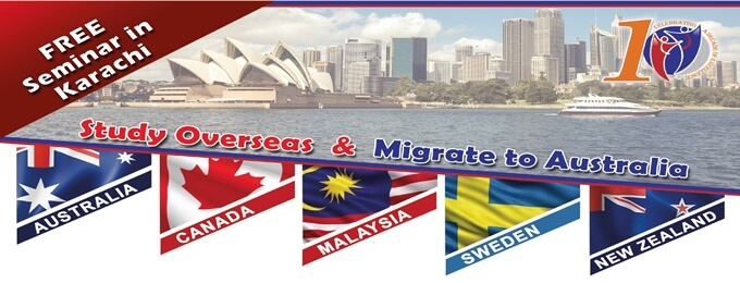 study overseas & migrate to australia free seminar in karachi