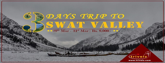 3 days winter trip swat, kalam and malam jabba 29 mar - 31 mar