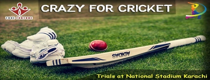crazy for cricket? trials at national stadium